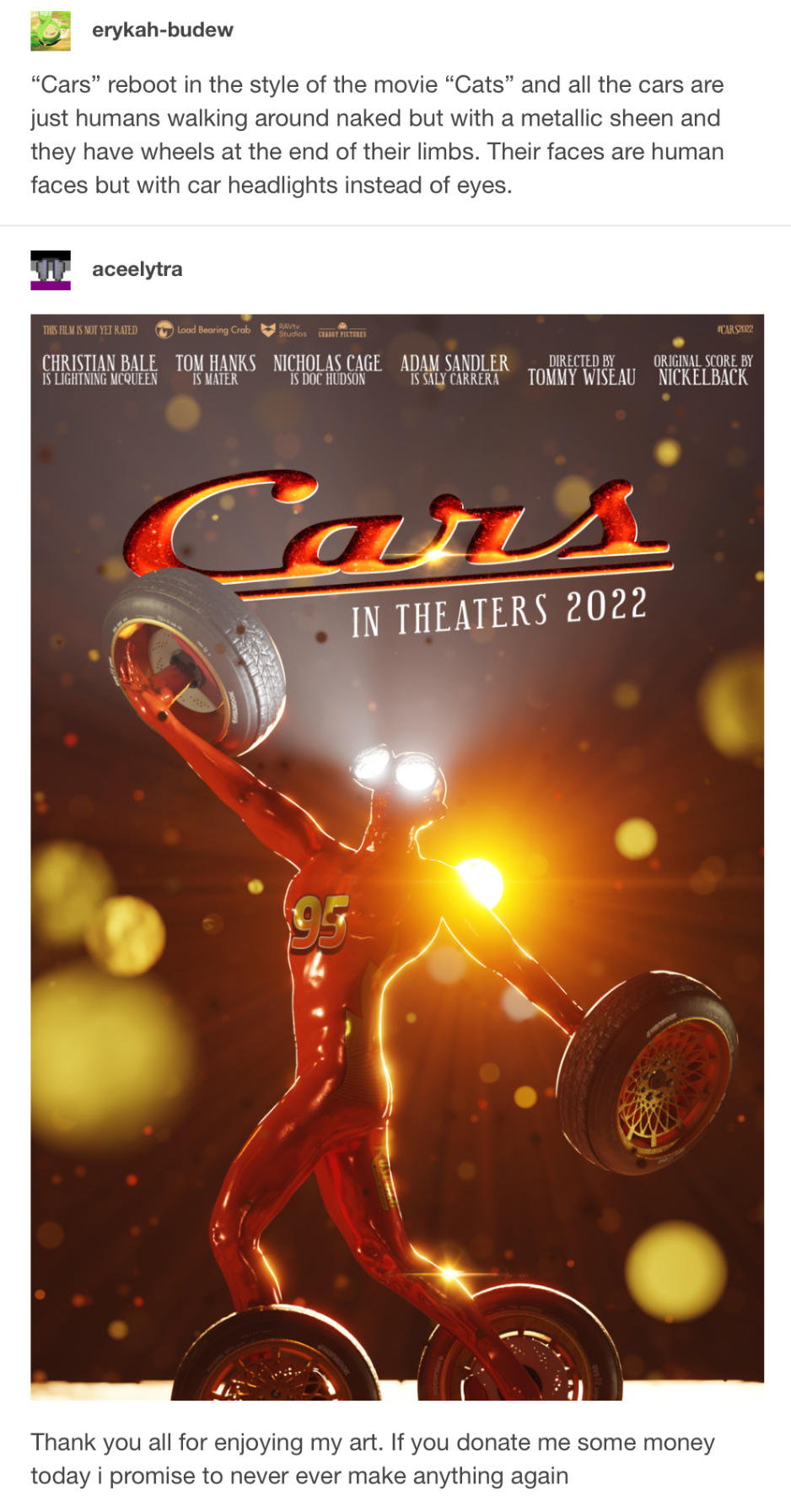 Cars the movie naked