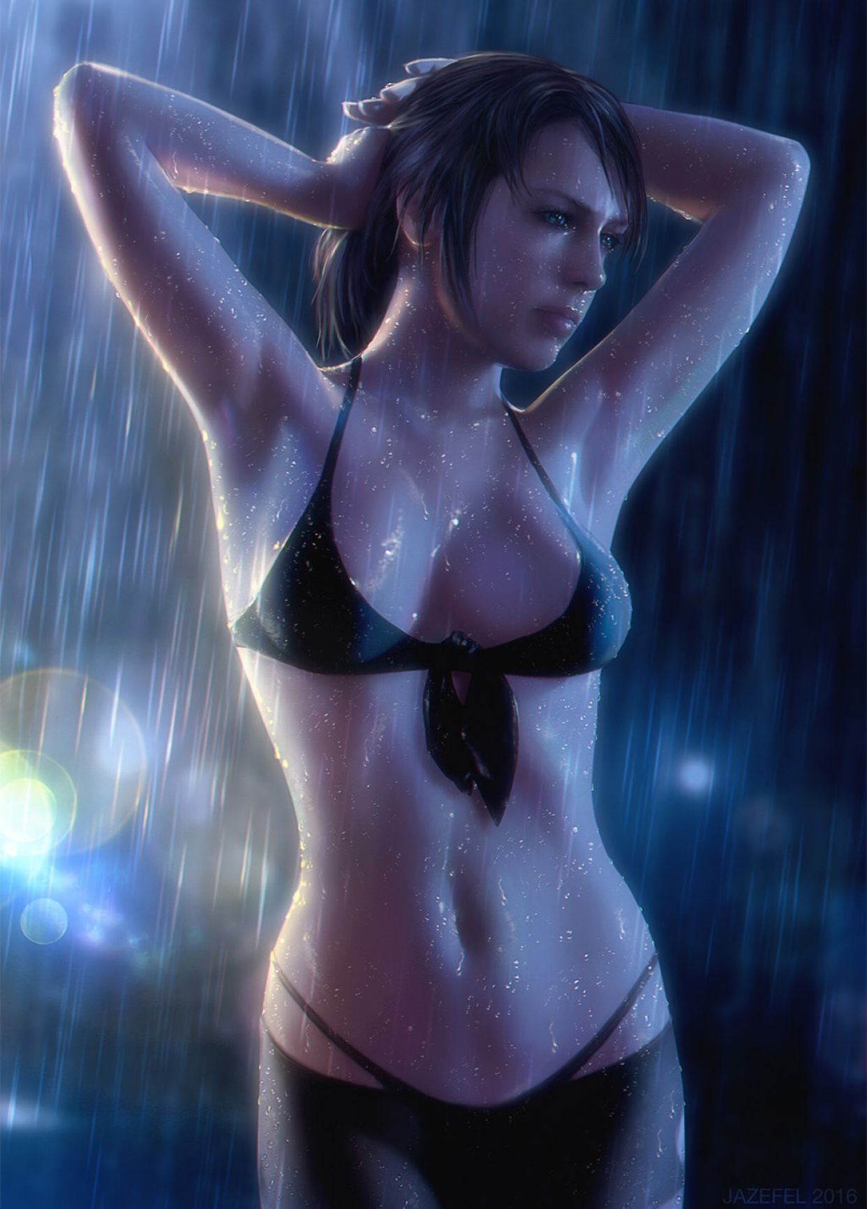 Mgsv quiet shower with snake