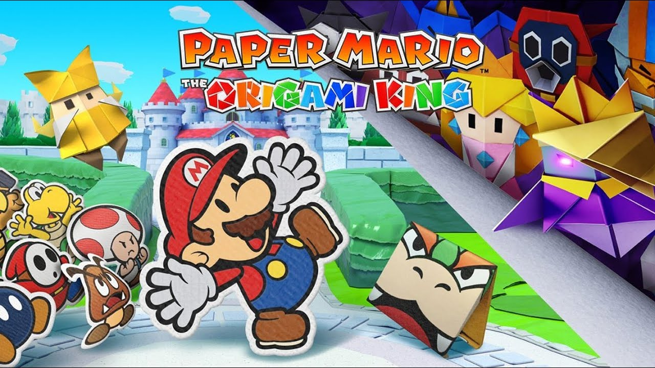 Paper mario battle theme extended