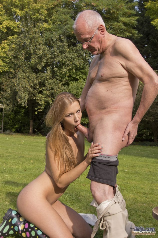 Sex with very old man